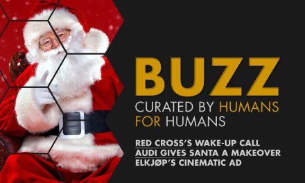 Weekly Buzz: Red Cross's Wake-up Call, Audi Gives Santa A Makeover, & Elkjøp's Cinematic Ad