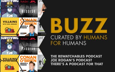 Weekly Buzz: The Rewatchables, Joe Rogan, & A Podcast For Everyone