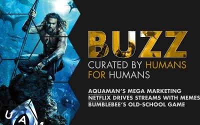 Weekly Buzz: Aquaman, Bird Box Memes, & Bumblebee's Old-School Game