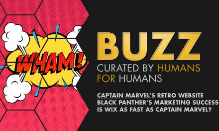 Weekly Buzz: Captain Marvel's Website, Black Panther Retrospective, & Wix Turbo.