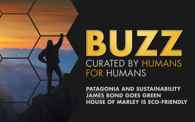 Weekly Buzz: Patagonia, James Bond Goes Green, & House Of Marley