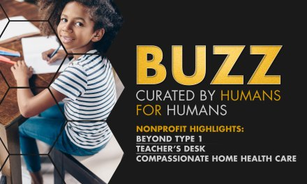 Weekly Buzz: Beyond Type 1, Teacher's Desk, & Compassionate Home Health Care