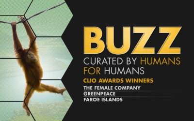 Weekly Buzz: The Female Company, Greenpeace, & Visit Faroe Islands at the Clio Awards