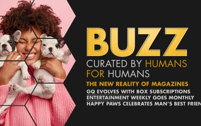 Weekly Buzz: GQ's Subscription Box, Entertainment Weekly Prints Monthly, & Happy Paws