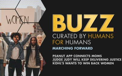 Weekly Buzz: Peanut App, Judge Judy, & Kohl's