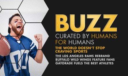 Weekly Buzz: LA Rams, Buffalo Wild Wings, & Gatorade