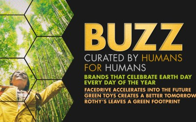 Weekly Buzz: Facedrive, GreenToys, & Rothy's