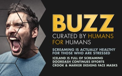 Weekly Buzz: Let It Out Iceland, DoorDash, & Facemask-wearing Hard Seltzer