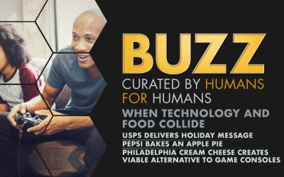 Weekly Buzz: When Technology and Food Collide
