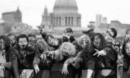 London Crawling: The Walking Dead 100