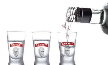 Smirnoff Has Fun with Ted Danson