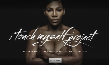 I Touch Myself Project Features Serena Williams