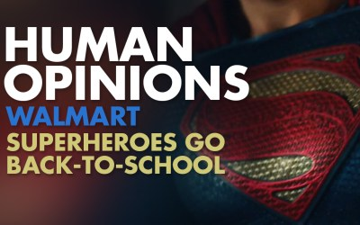 Human Opinions: Walmart's Superheroes