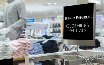 Banana Republic Tries On Fashion for Rent