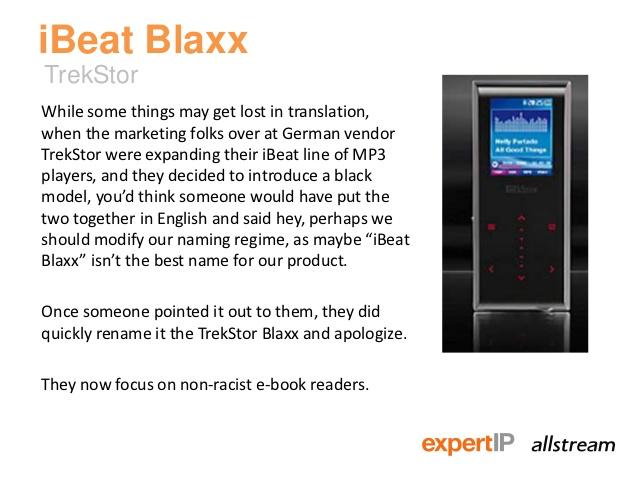 iBeat Blaxx – Terrible Product Name
