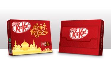 KitKat 4-Fingers Lebaran Special Pack Design 2018