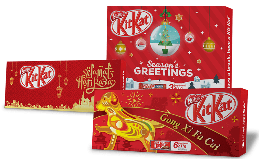 KitKat Packaging Design