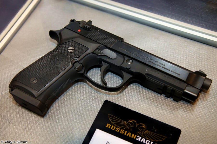 Пистолет Макарова (ПМ) и Beretta 92