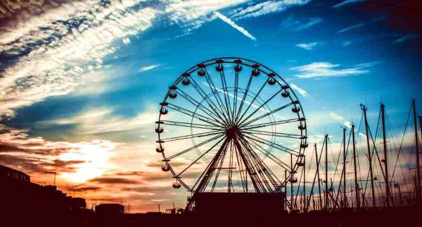 amusement park architecture back light 705771_result