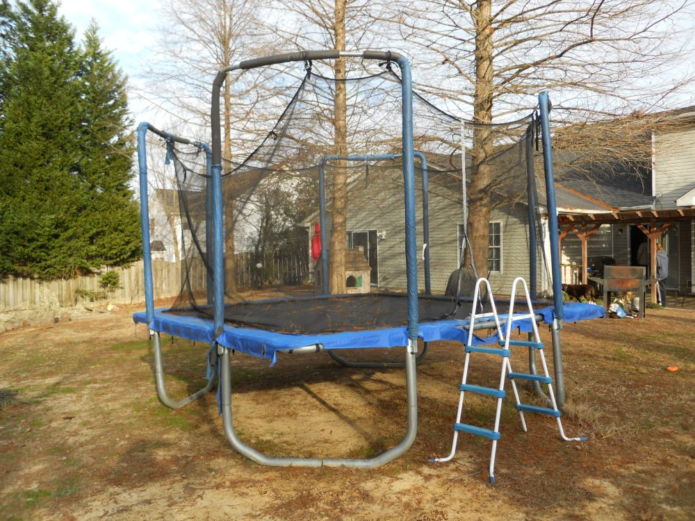Recycle Your Old Trampoline