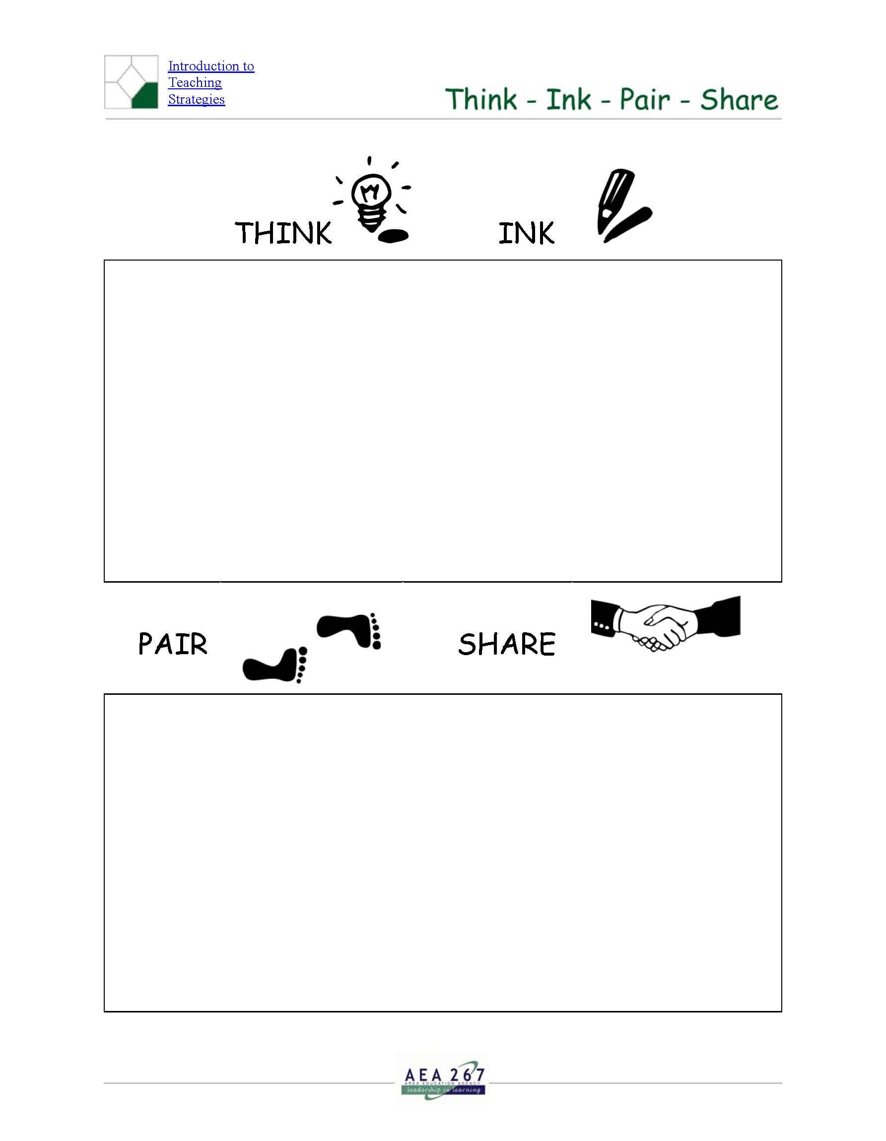 Worksheets Think Pair Share Worksheet Bumdig Free