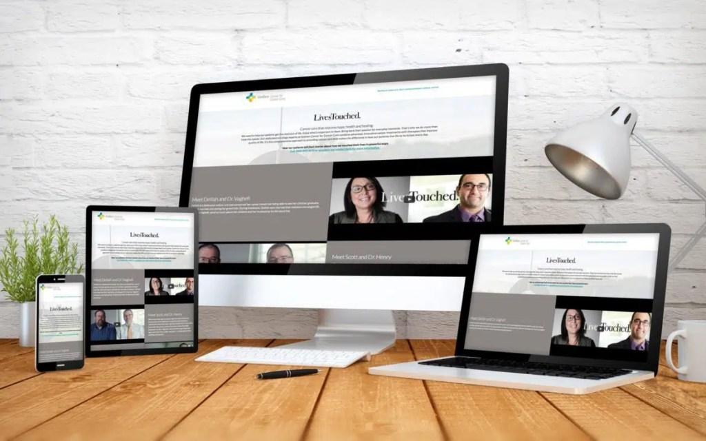 Goshen Center for Cancer Care, ThinkPod Agency, Website Design, Marketing, Digital Agency, Online Advertising