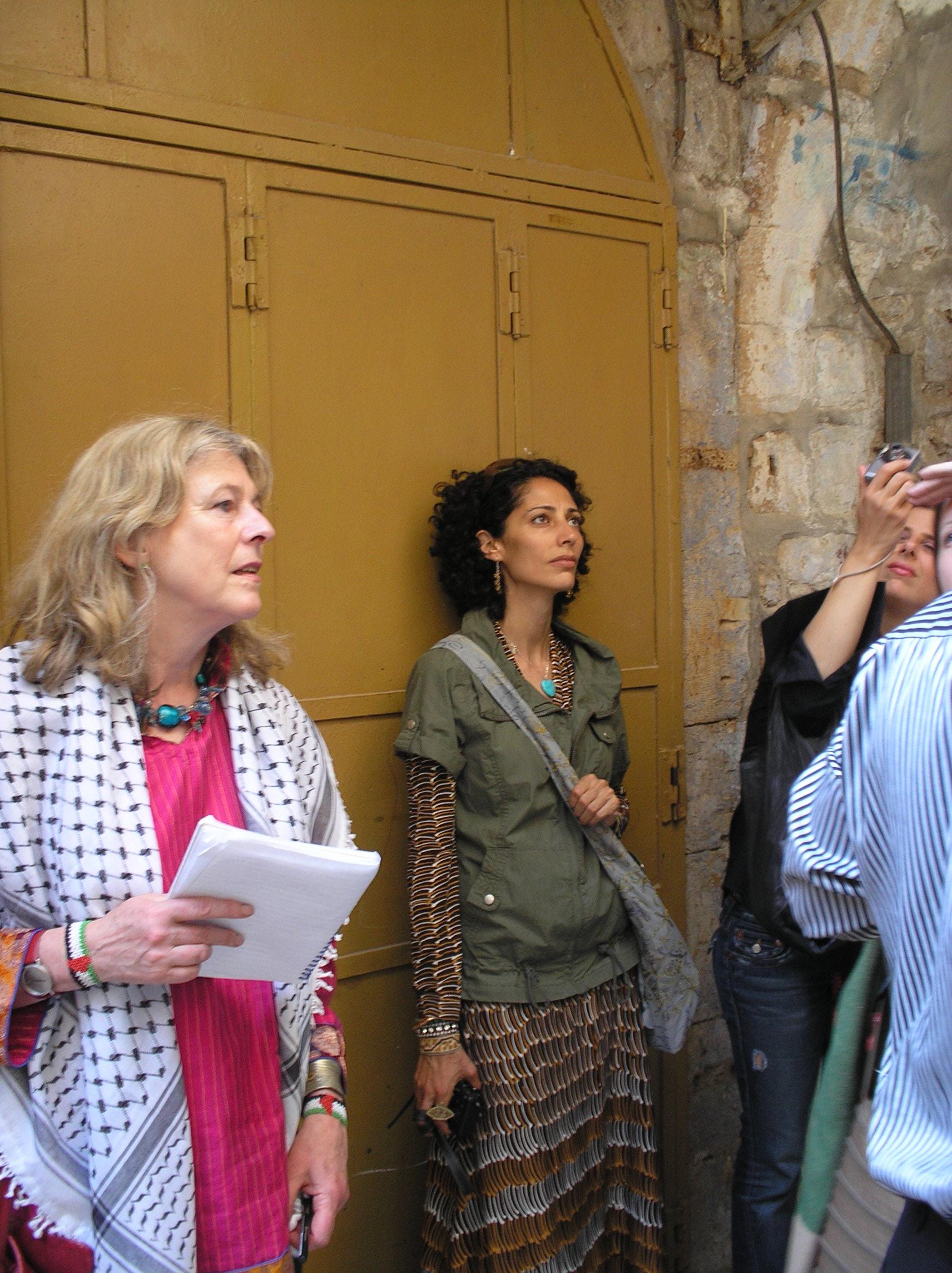Debborah Moggach and Suheir Hammad respond to conditions in Hebron/al-Khalil