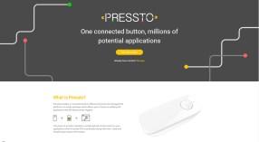 Snapshot of current website design.