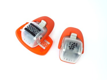 The punches are available in a range of different shapes, indicated by the print detail on top