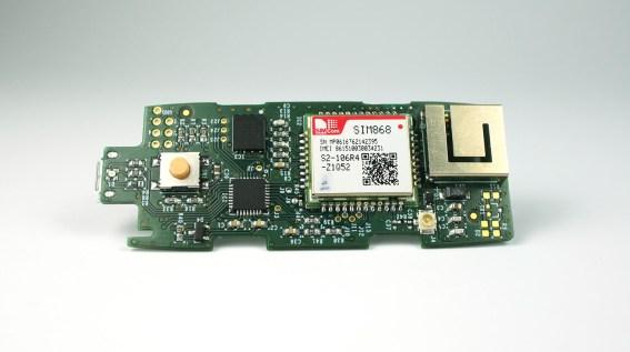 Final PCB design.