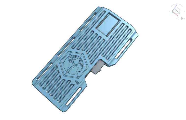 Onshape 3D CAD model.