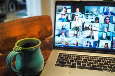 zoom fatigue during a remote team meeting