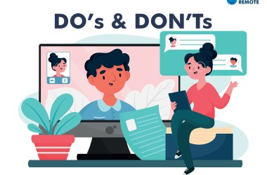 remote job interview do's and don'ts