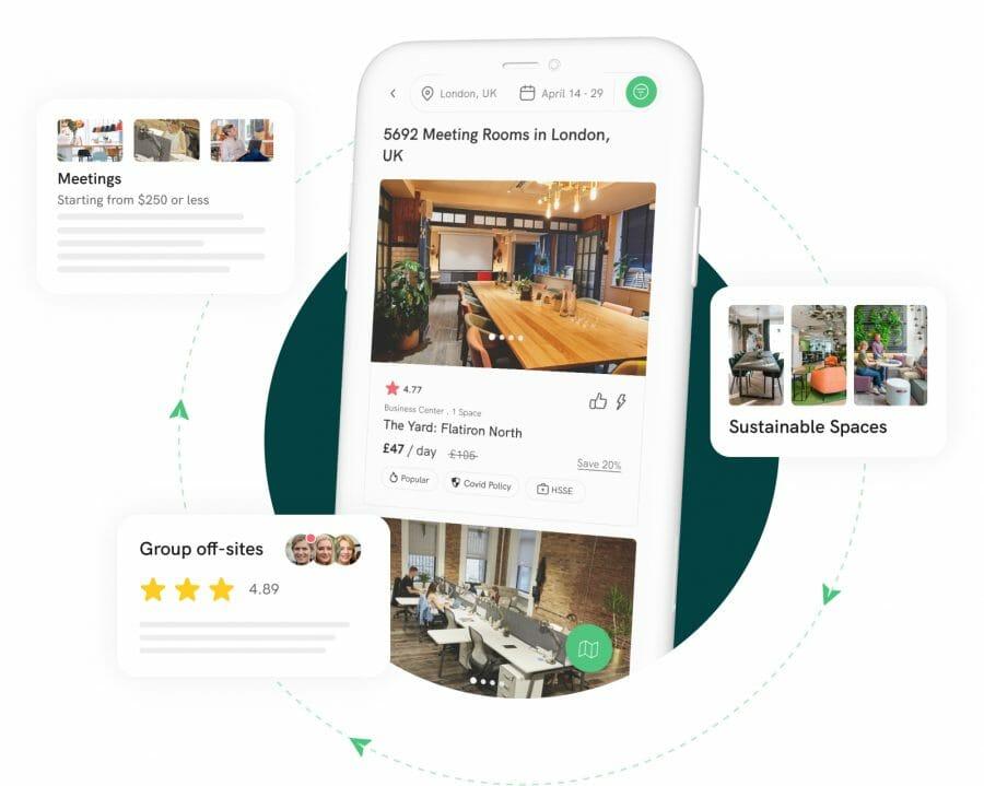 on-demand workplace platform