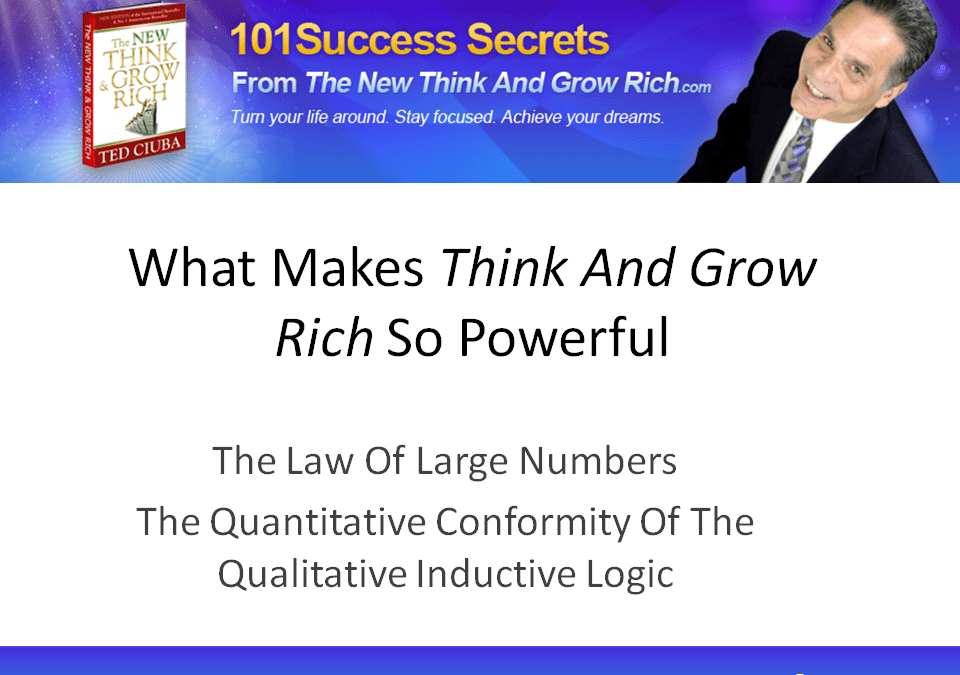 What Makes The New Think And Grow Rich So Powerful