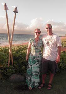 Steve and Courtney - Maui