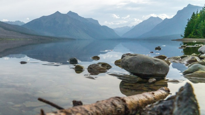 Lake McDonald near West Glacier