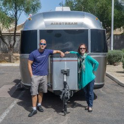 We're Airstreamers, but don't call us trailer trash!