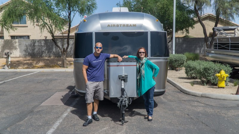 Picking up the Airstream