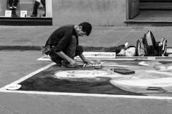b&w - firenze, street art