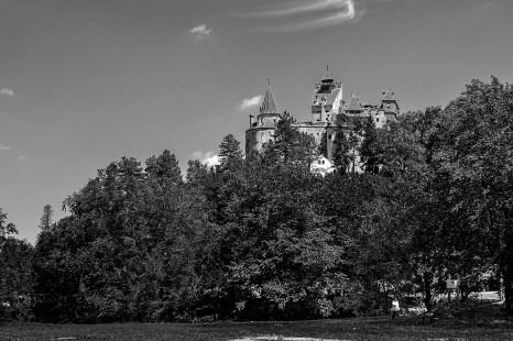 B&W bran castle, brasov