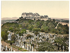 [Castle from tower, Stirling, Scotland] (LOC)