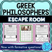 Greek Philosophers Escape Room Picture