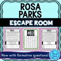 Rosa Parks Escape Room cover