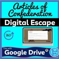 Articles of Confederation Classroom Educational Activity