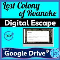 Lost Colony Digital Escape Room cover