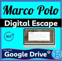 Marco Polo Digital Escape Room Picture