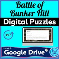 Battle of Bunker Hill DIGITAL ESCAPE ROOM picture