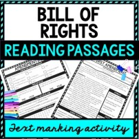 Bill of Rights Reading Passages picture