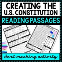 Creating the Constitution Reading Passages picture